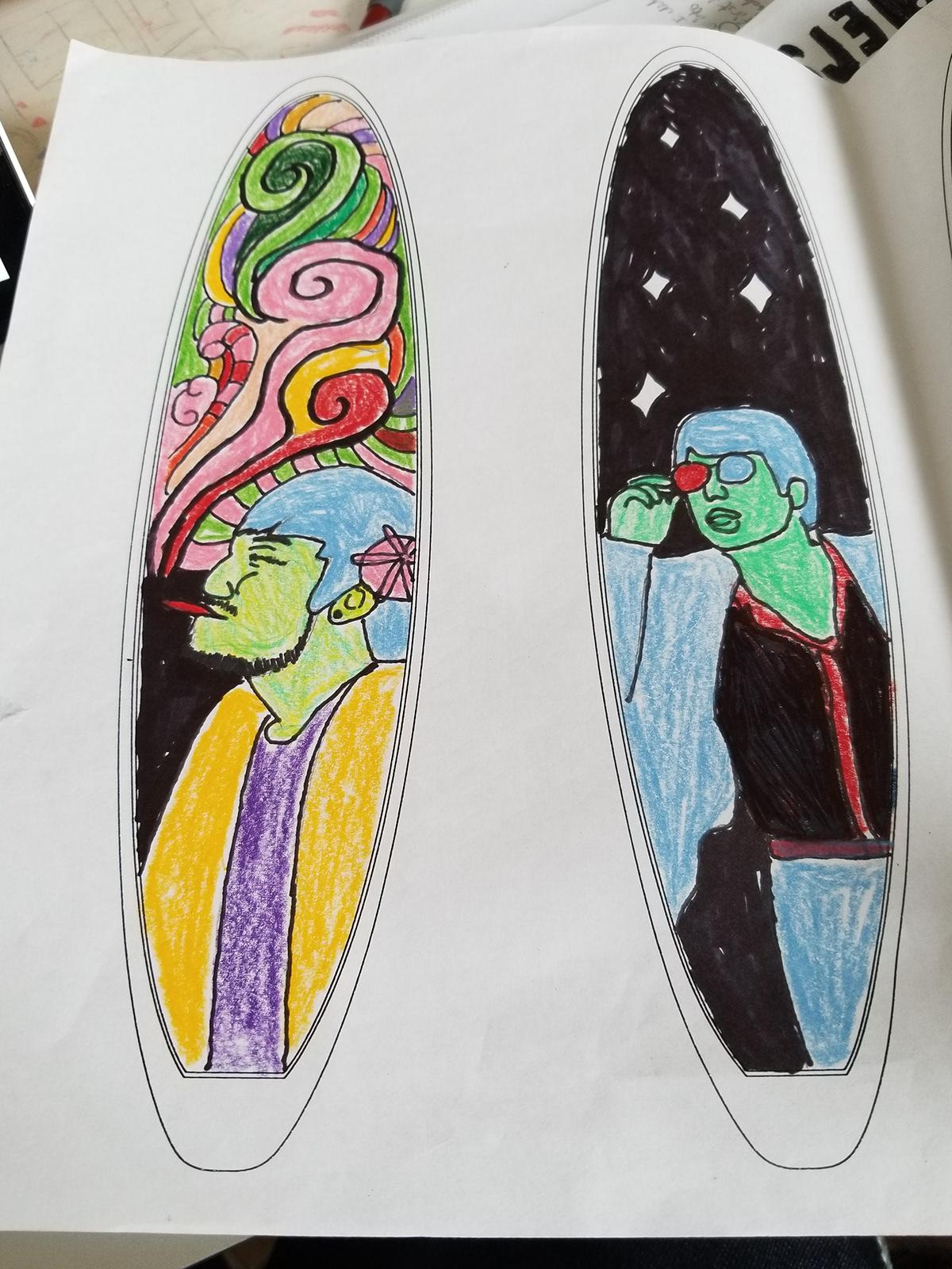 Surfboard Designs On Scad Portfolios