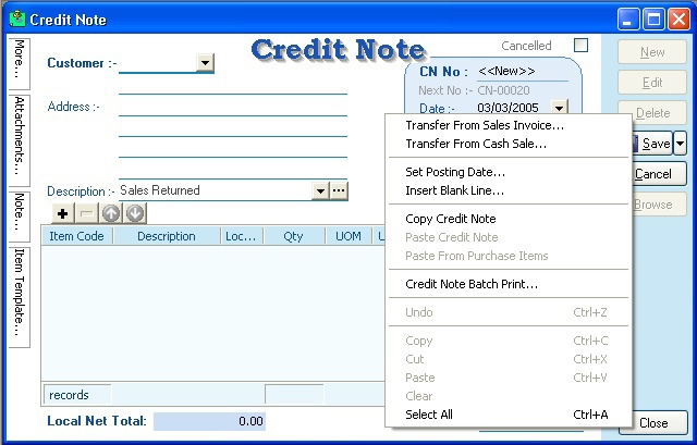 How To Write Credit Debit Note on Behance – Format for Credit Note