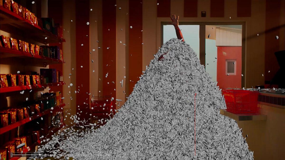 3D animation  CGI dubai Film   KitKat Arabia motion motion graphics  vfx video