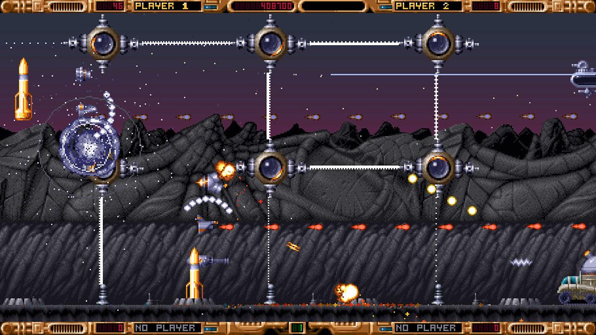 amiga game retro game Indie game 1993 spacemachine real retro shmup Space Shooter arcade