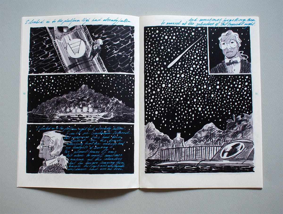 Classic comicbook stripverhaal comics ILLUSTRATION  book capitan Nemo adventure