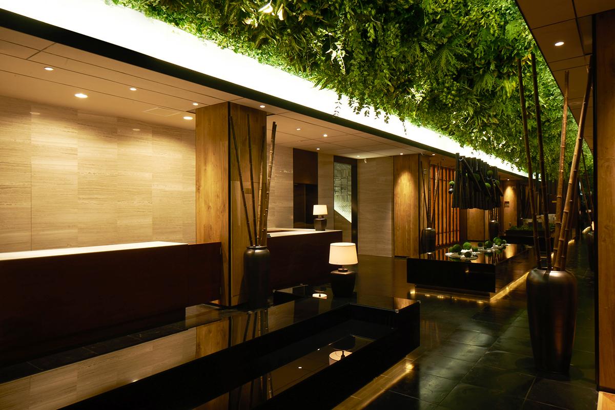 Green belt lounge moonlit garden wuxi on behance for Idea garden hotel wuxi
