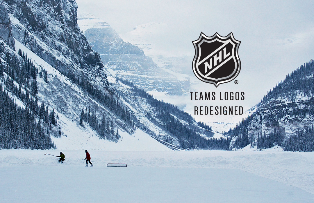 premium selection 1a480 ecb39 Every NHL Team Logo redesigned on Behance