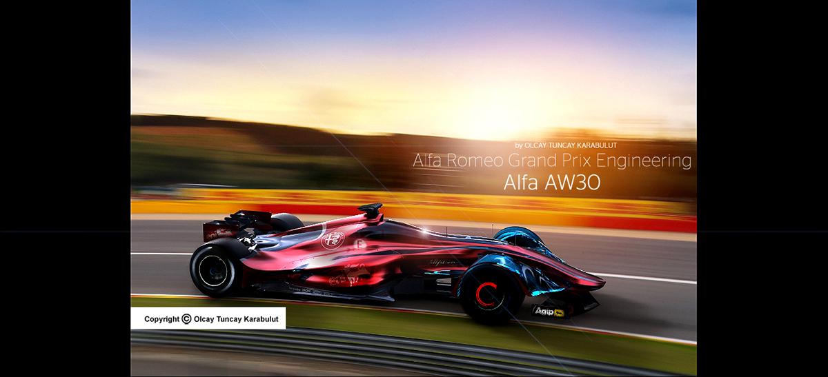Alfa Romeo Back to Formula 1 on Behance