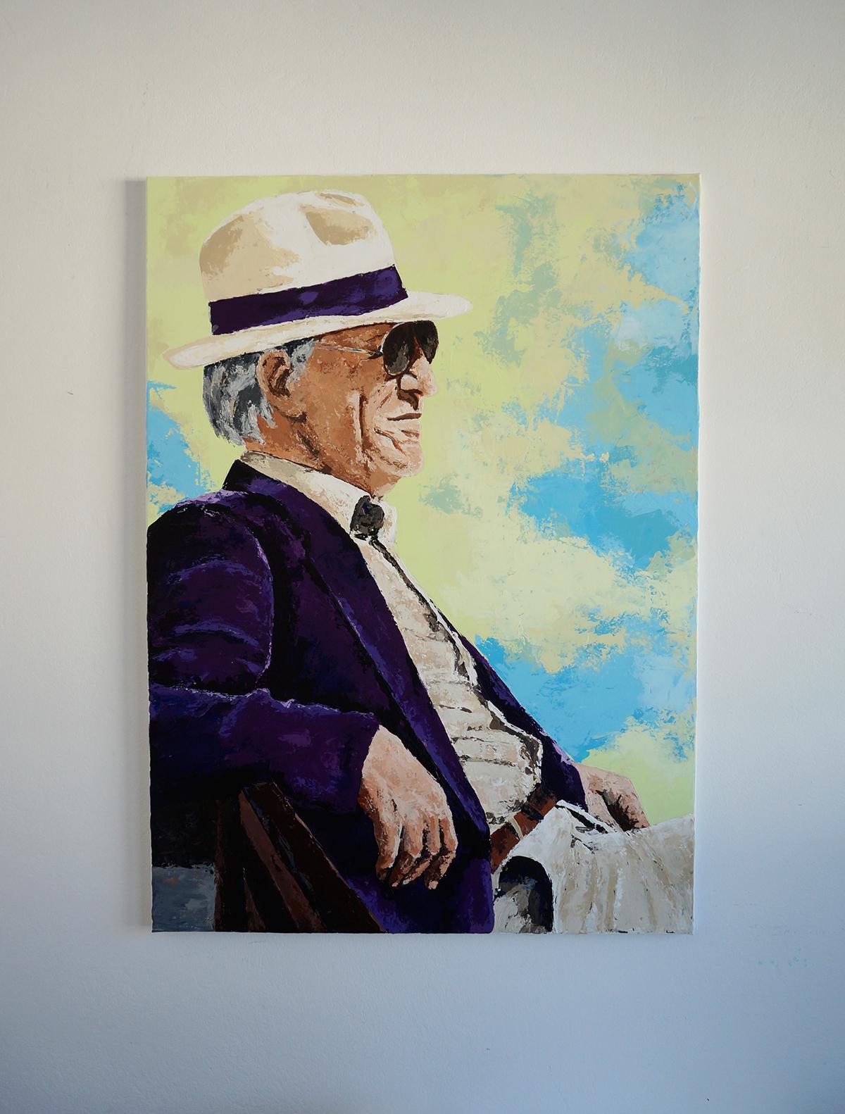 portrait patrone Claudio Mancini