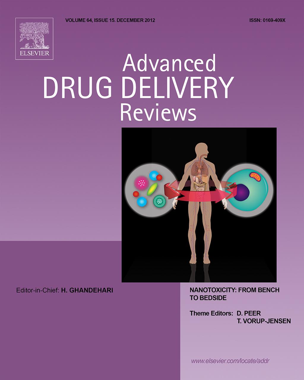 advanced drug delivery reviews pdf