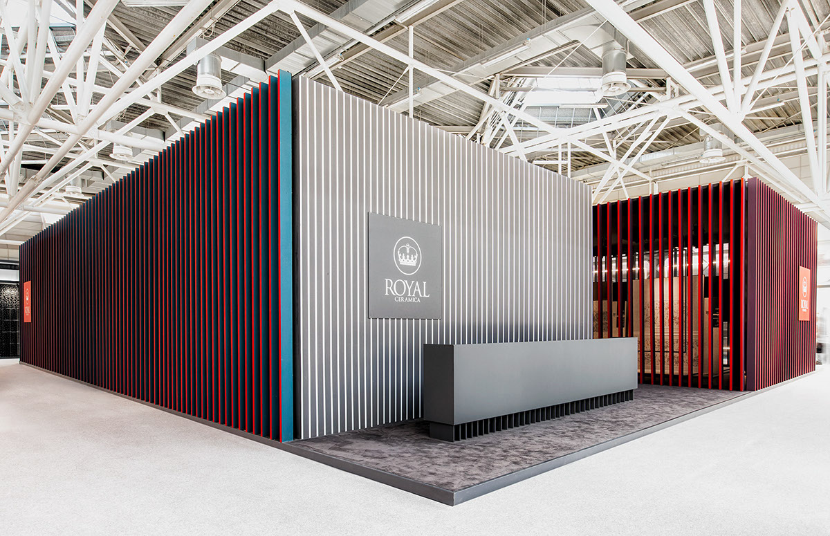 Framing. The RC pavilion at Cersaie 2014. on Behance