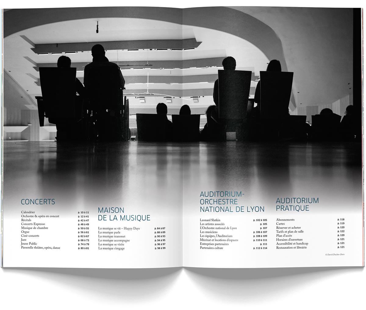 Programme 2015 De LAuditorium Lyon Realise En Collaboration Avec Pascale Moncharmont 124 Pages 200x280 Visuel Couverture Vincent Mahe
