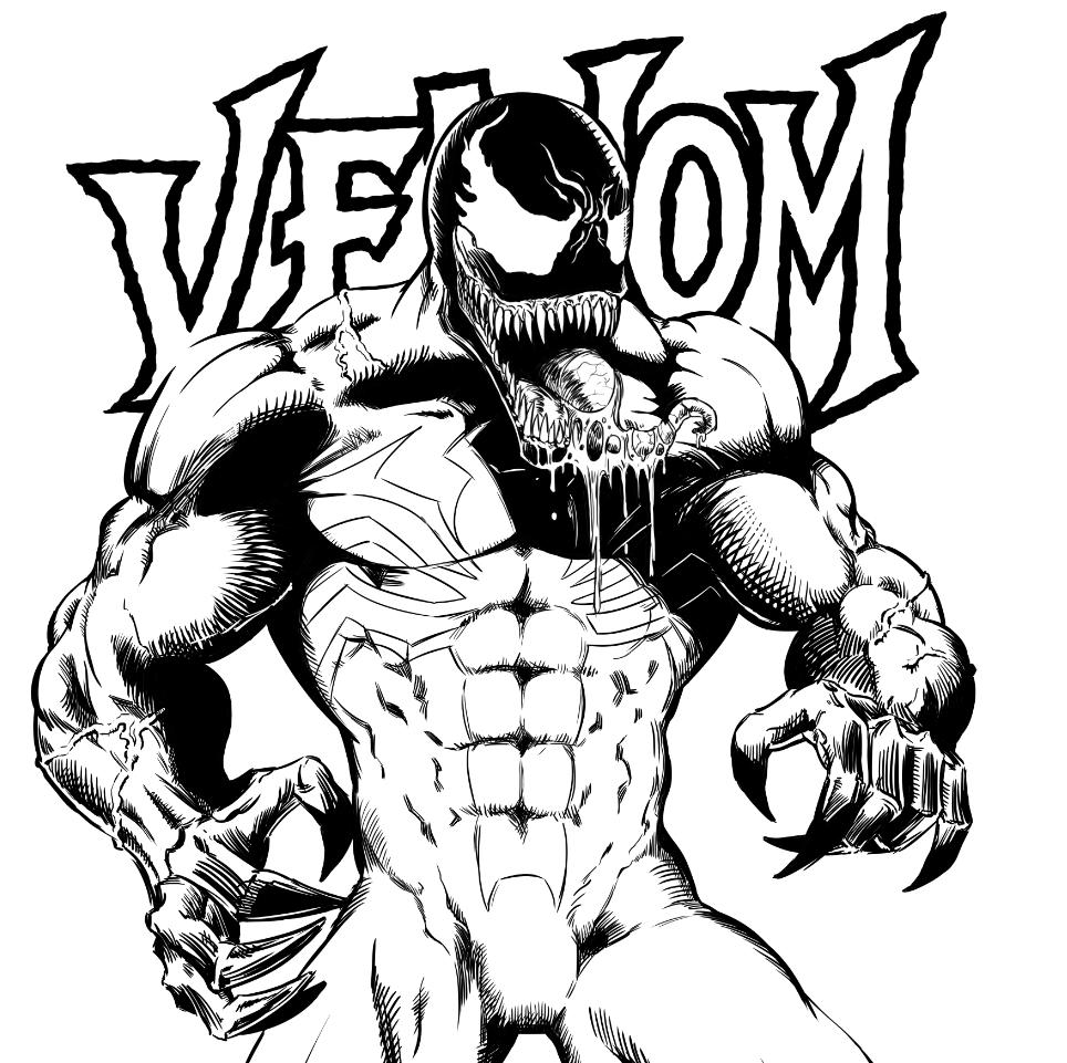 Venom poster on Behance