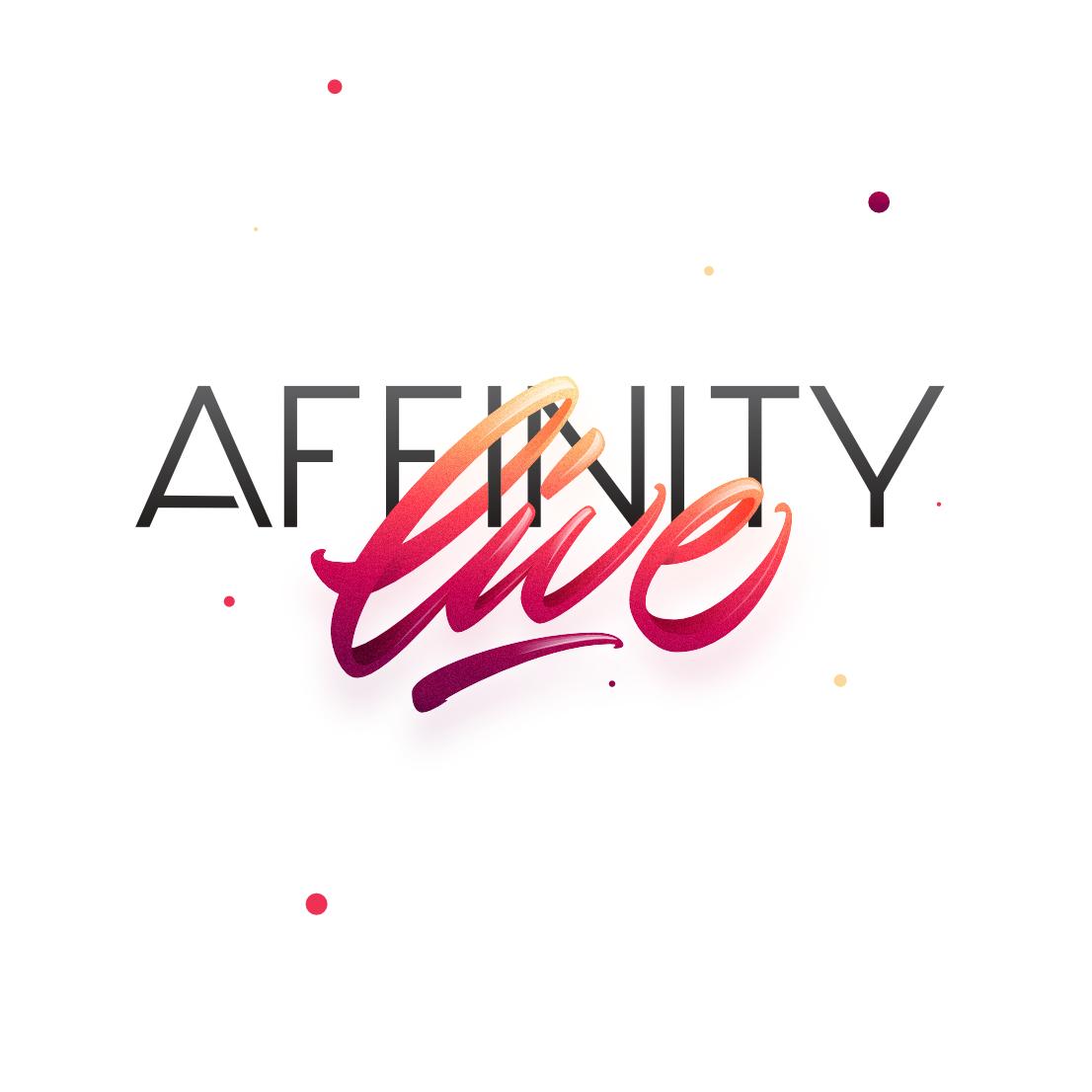 lettering lettering logo live affinity designer
