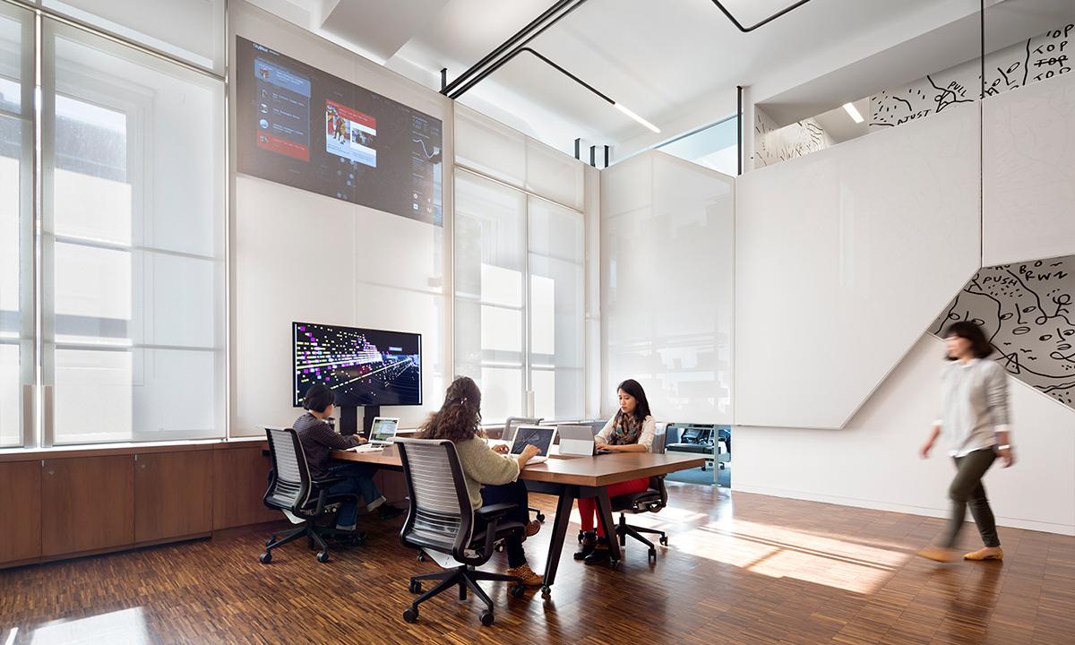 columbia Columbia University Manhattan ltl ltlarchitects ltl architects research media buro happold AIANY IALD