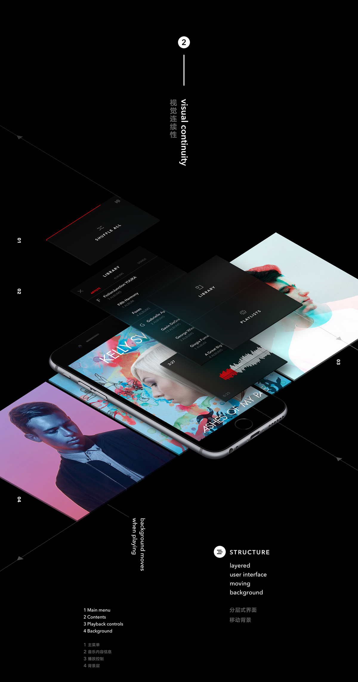 NEXT Music Player App - UI/UX