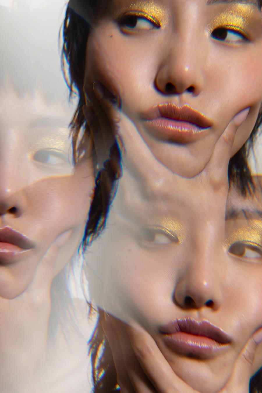 Advertising  angela marklew beauty campaign cosmetics editorial Los Angeles makeup