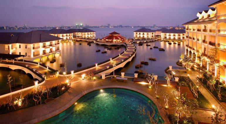 intercontinental Hanoi InterContinental Westlake hanoi hotel vietnam Travel Intercontinental