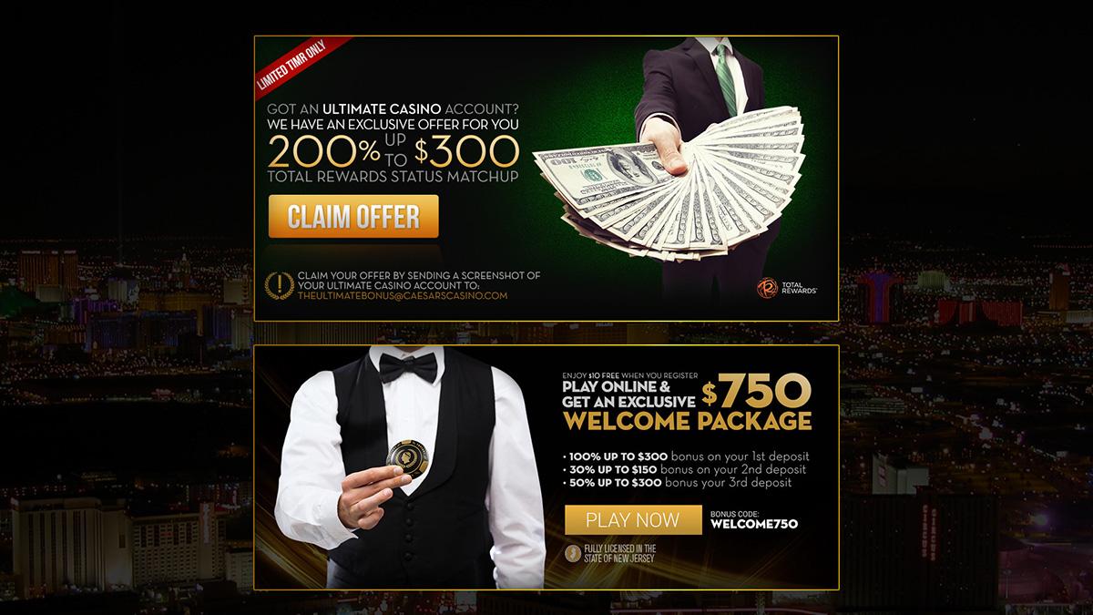 casino landing page marketing