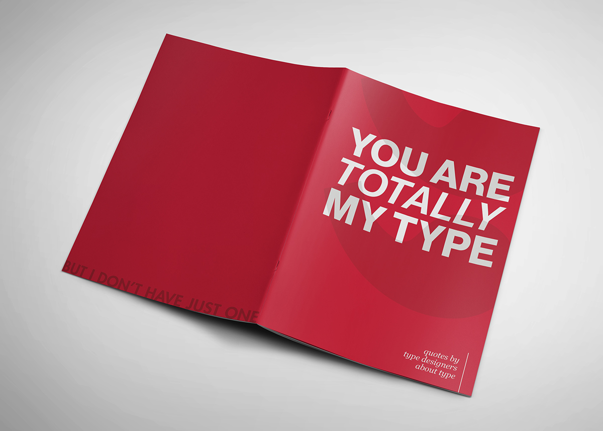 experimental typebook on behance