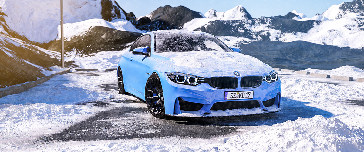 BMW M4 Coupe on Student Show
