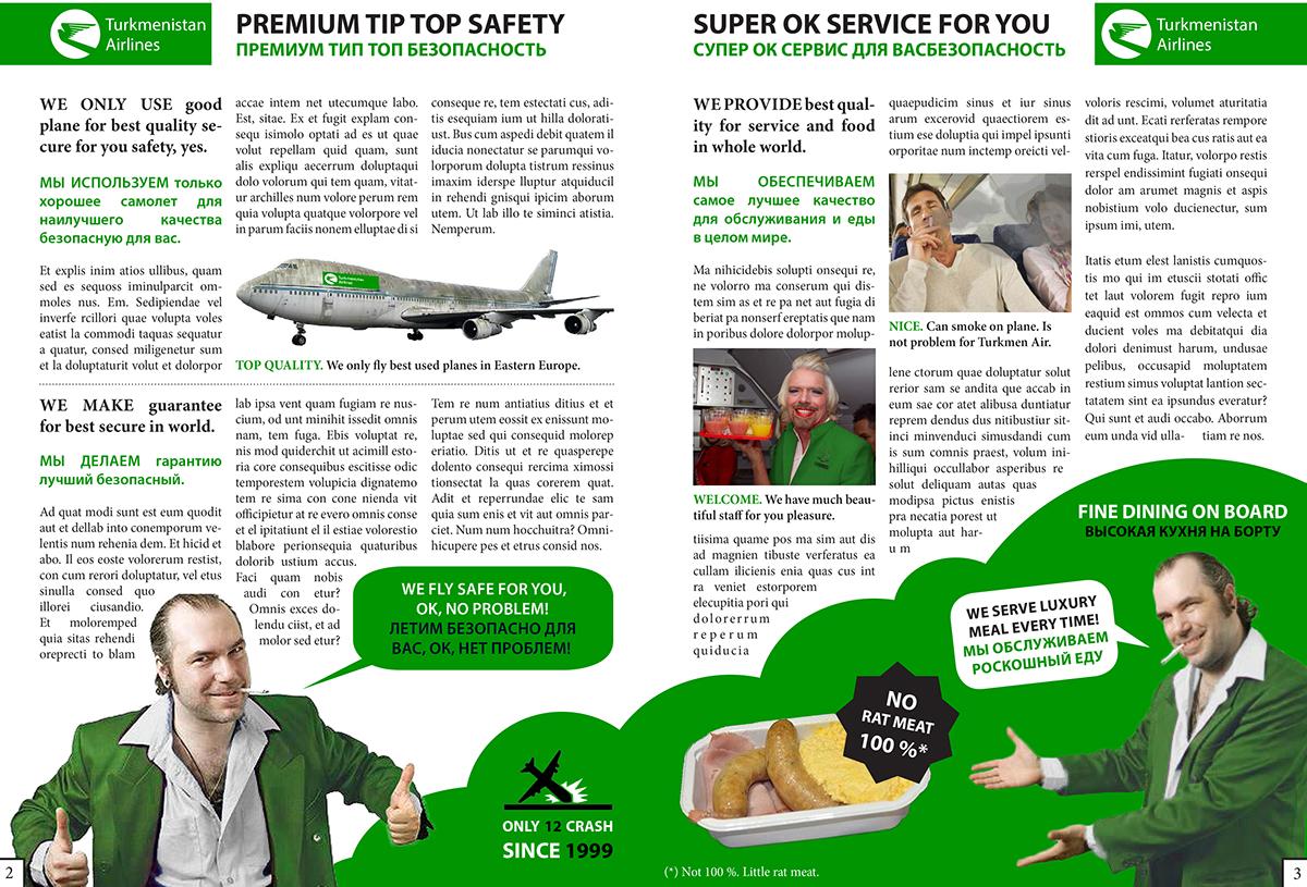 Airlines,brochure