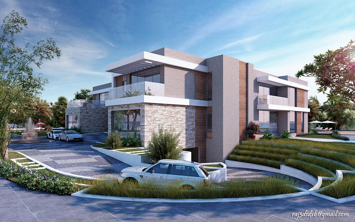 Modern Villa Dubai UAE on Behance