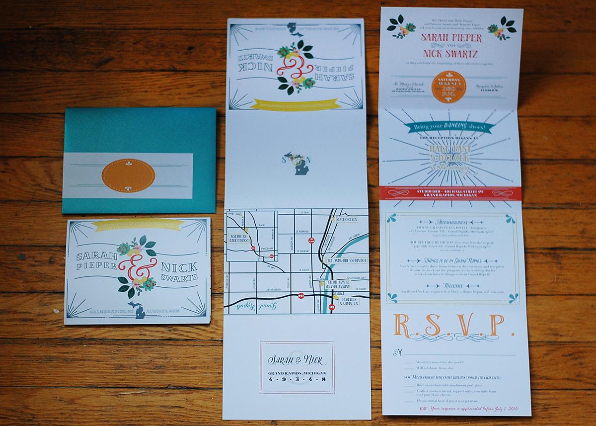 Wedding Invitation Suites on Behance