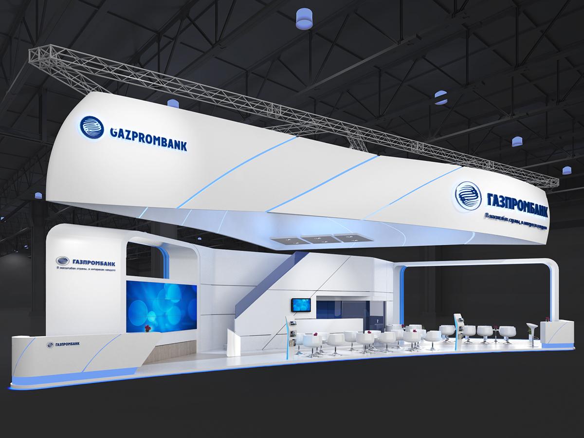 Exhibition Stand Double Decker : Gazprombank on behance