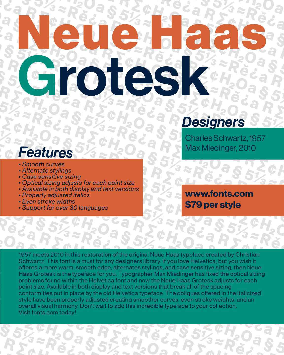 What's New with Neue Haas Grotesk on Behance