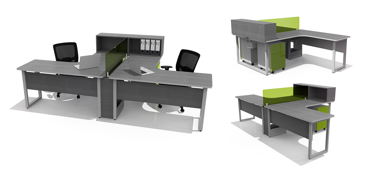 EMSA - Office Furniture - Mobiliario de Oficina on Behance