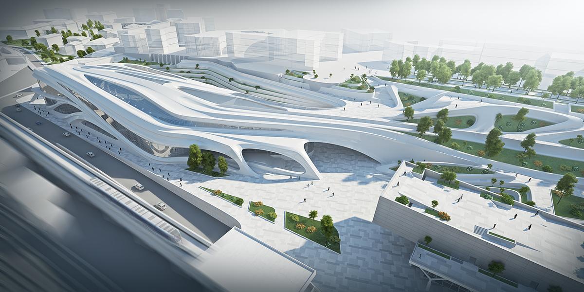 Theatre,fiberconcrete,concrete,shell,bio architecture,zaha,visualization,diploma project