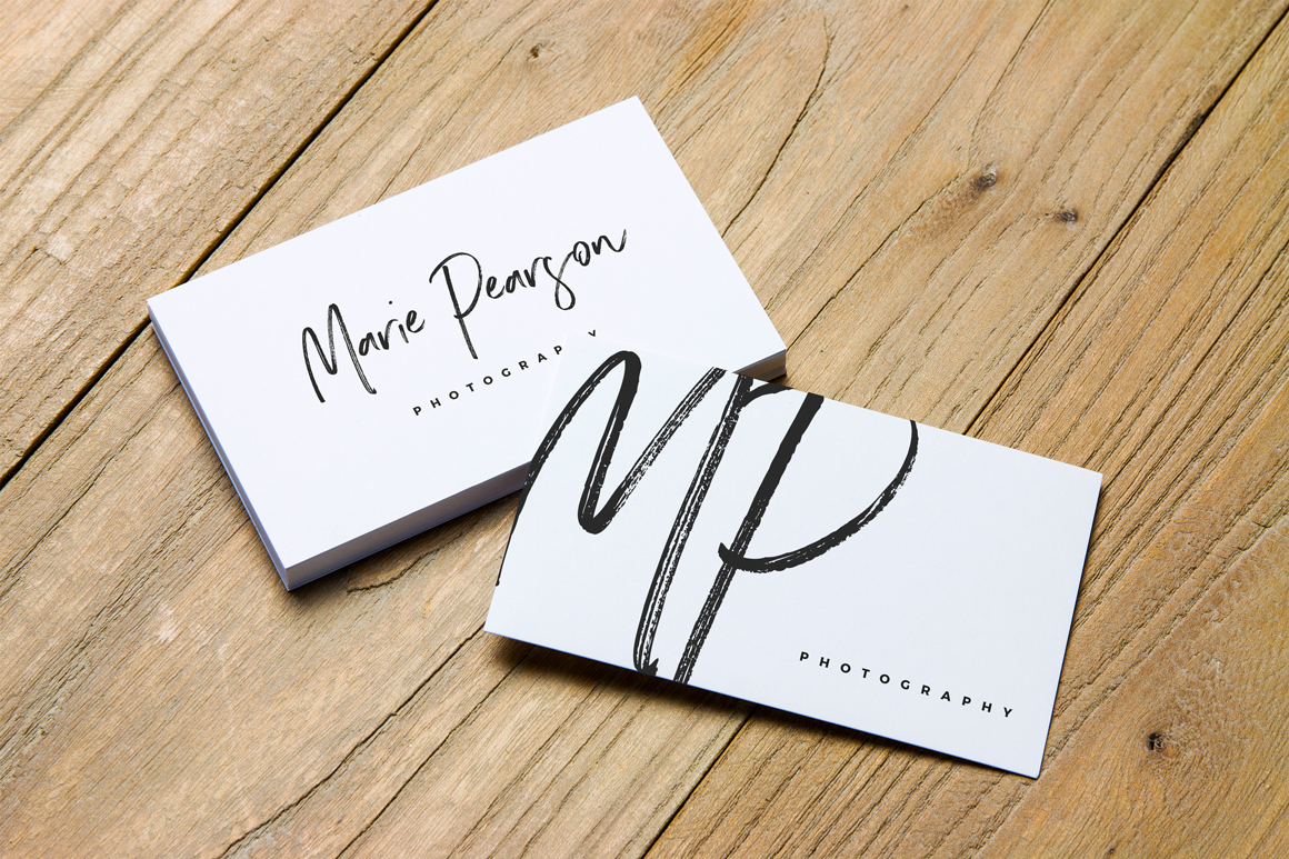 Free Mockups] 2 Free Business Card Mockups on Behance