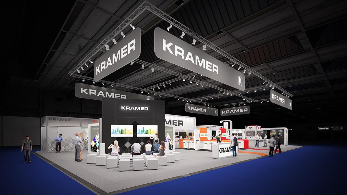 Exhibition Stands In Orlando : Kramer @ infocomm 2015 orlando on behance