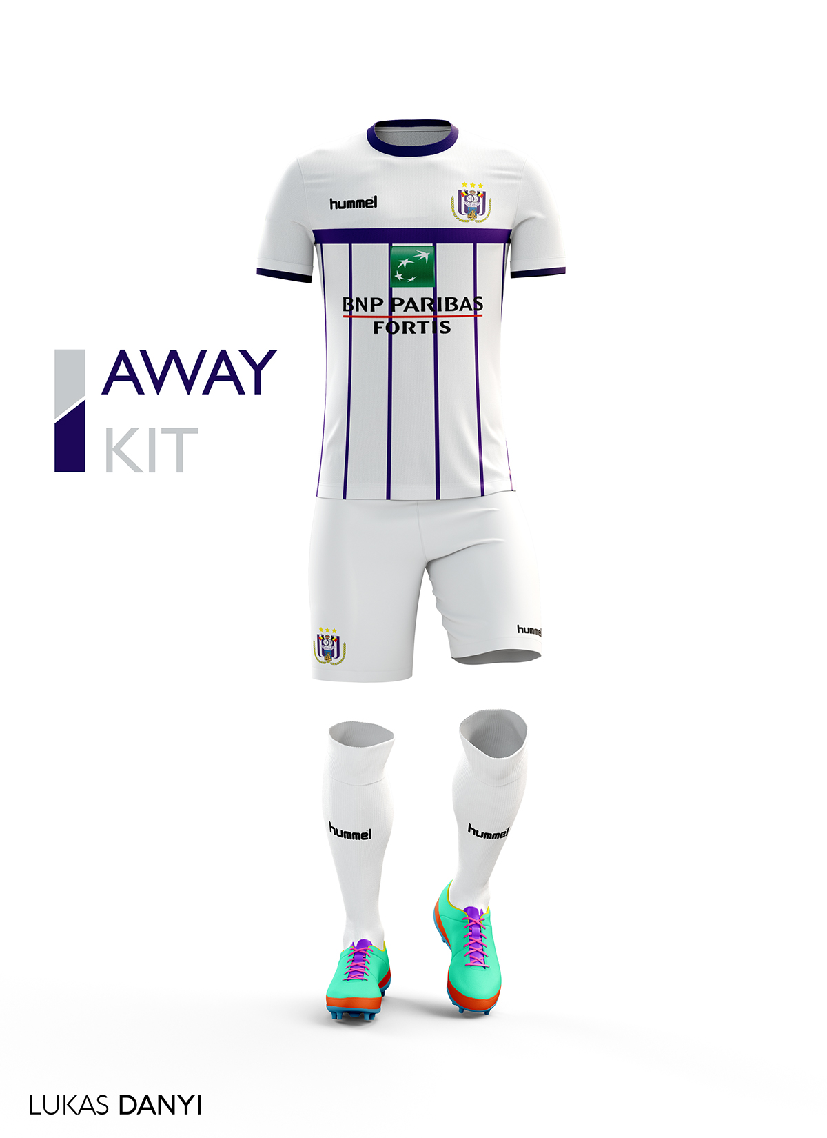 04c357f8fff I decided to design all pro league teams football kits but all in the brand  Hummel I hope you like it.