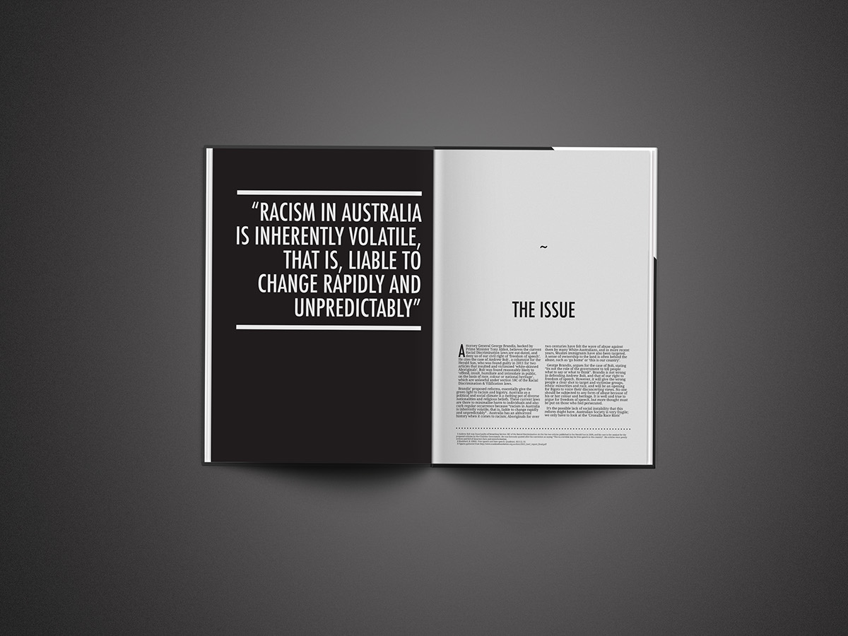 Magazine and editorial design mockup