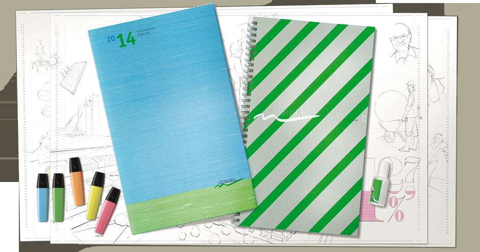 Corporate Design reports geschäftsbericht neon Textmarker print