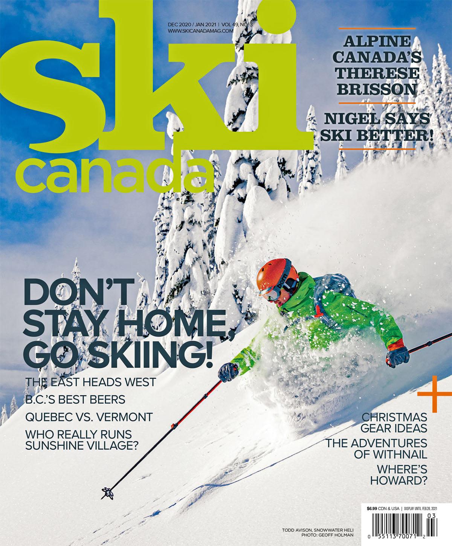 PUBLISHED photos skiing powder winter sports strobe Flash