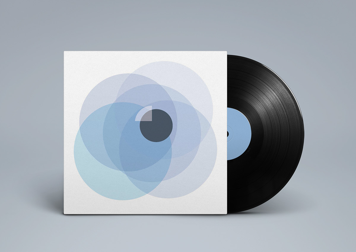 """secret 7"""" record sleeve record sleeve chvrches Clearest Blue"""