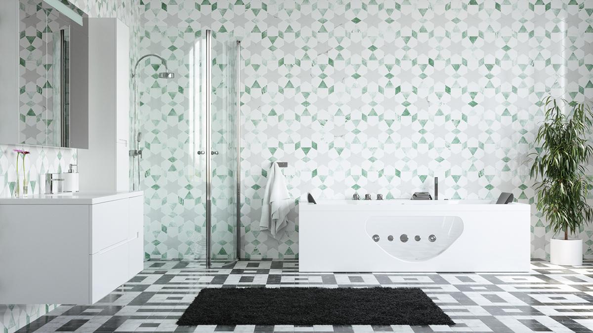 Bathroom Remake On Behance - Bathroom remake