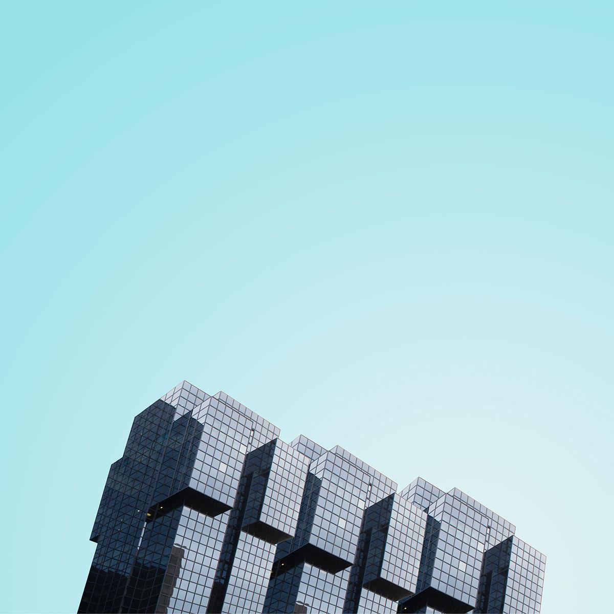 London minimal building gradient Minimalism skyscraper city architecture