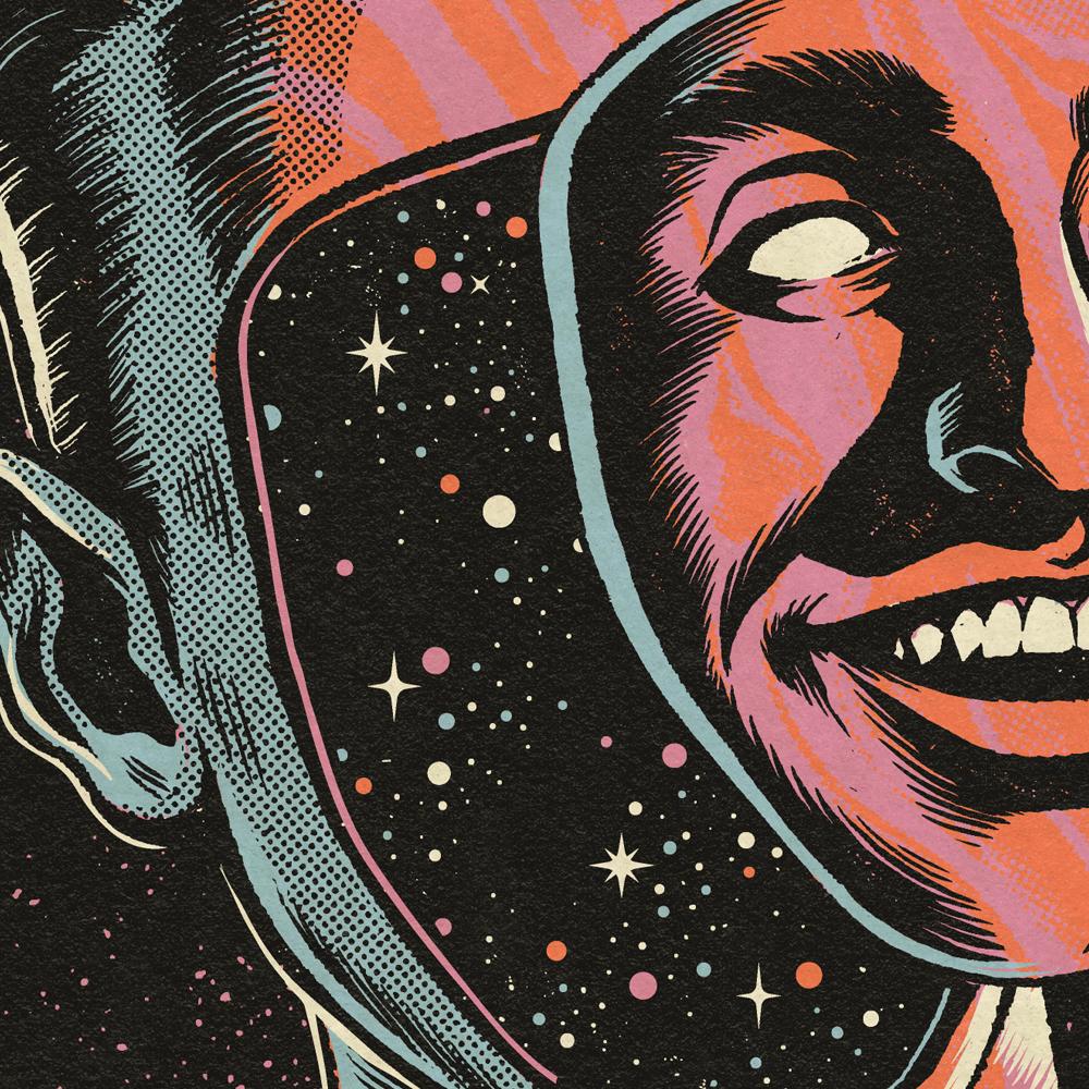 How To Design Album Art : Art vs science album cover on behance