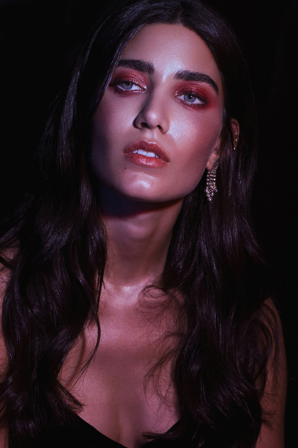 Fashion ,beauty,neon,dubai,photographer,Photography ,chernih,red,model,editorial