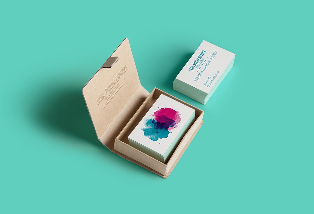 Business Card Psychologist On Behance