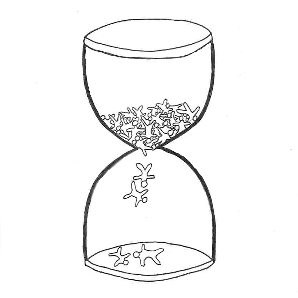 henry deane hourglass on behance Hourglass Tattoo Drawings making the hourglass similar to the henry deane plaza was difficult due to the lack of many prominent features other than the fountain feature