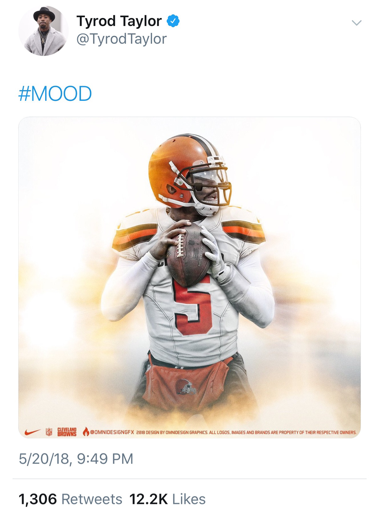 browns tyrod taylor jersey