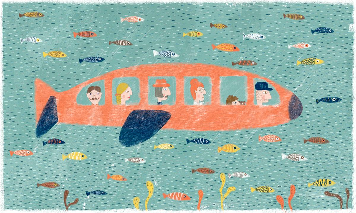 ilustración infantil illustration child kids
