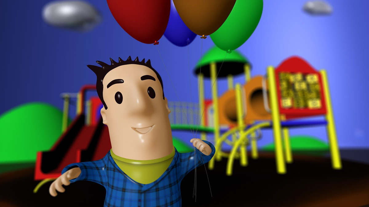 big nose  animation  funny character  character animation  short movie character movie