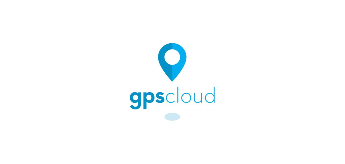 gps cloud Technology logo IT