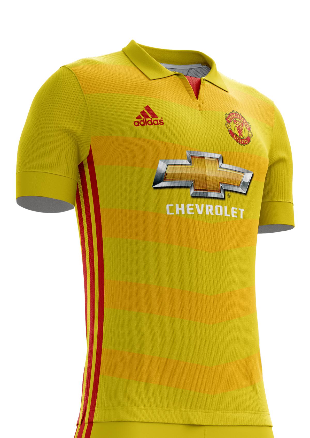Manchester United Football Kit 16 17 On Behance