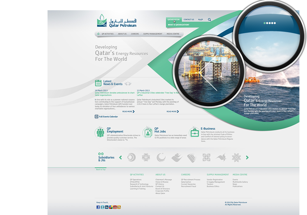 Qatar Petroleum on Behance