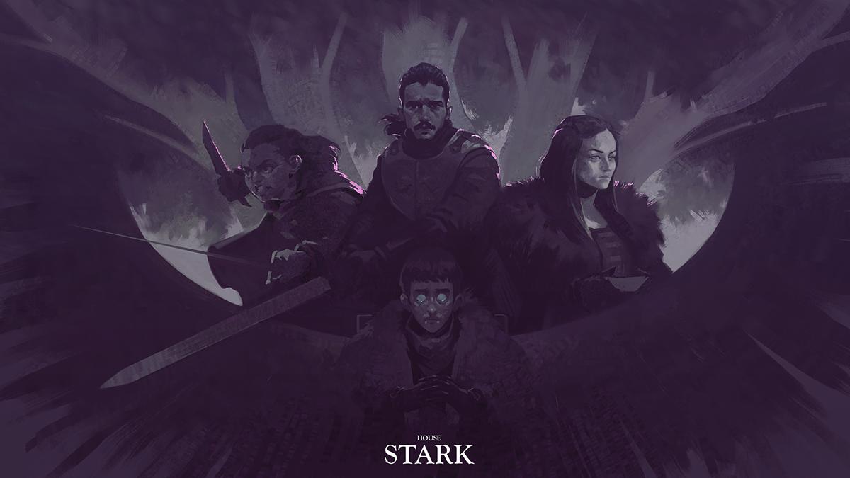 Game Of Thrones Fan Art On Behance