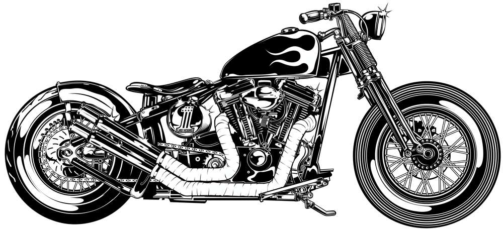 Harley Davidson Dyna Silhouette