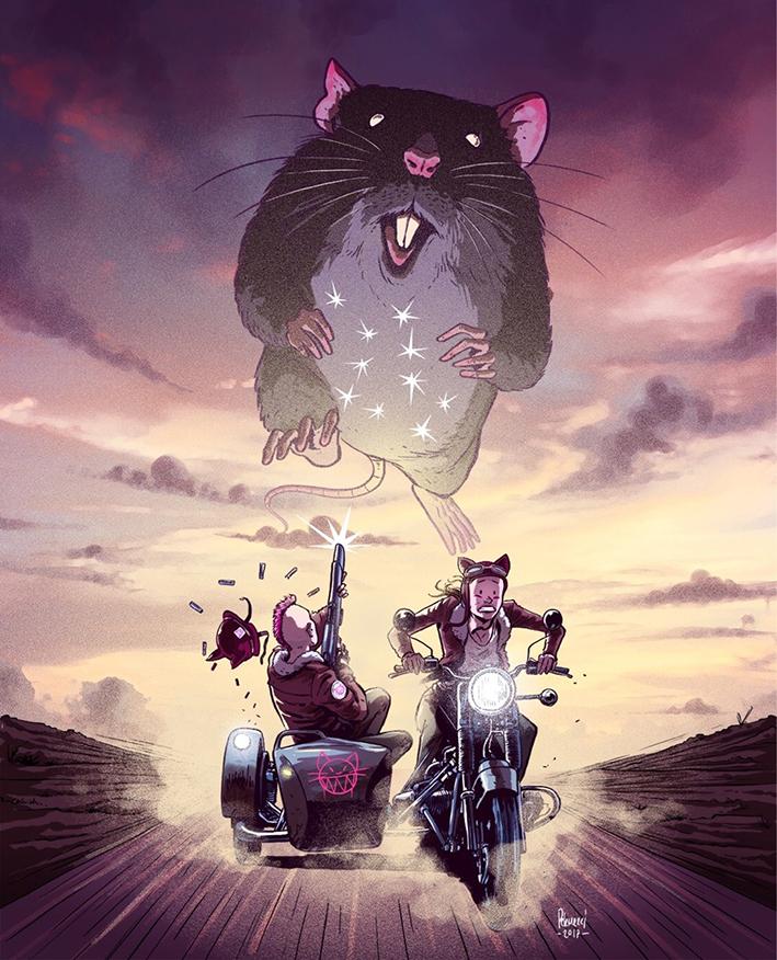 motorcycle social media Cars rat